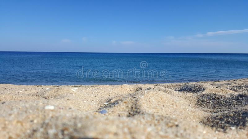 Golden Sands. Bulgaria royalty free stock photo