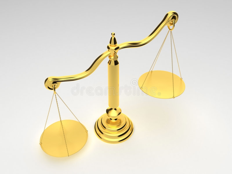 Download Golden Scale Royalty Free Stock Photos - Image: 3401088
