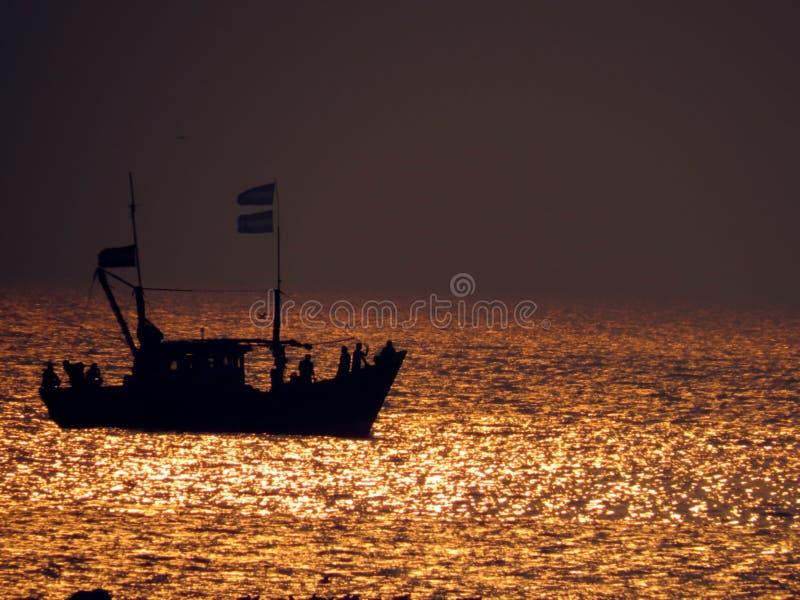 Download Golden Sea stock photo. Image of travel, oceans, transportation - 29626814
