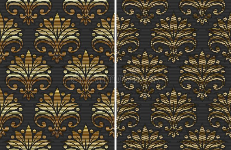 Download Golden Seamless Pattern Royalty Free Stock Photography - Image: 23494337