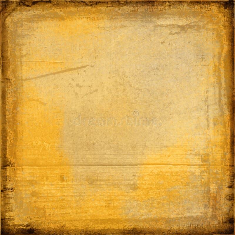 Golden sepia toned backdrop royalty free stock image