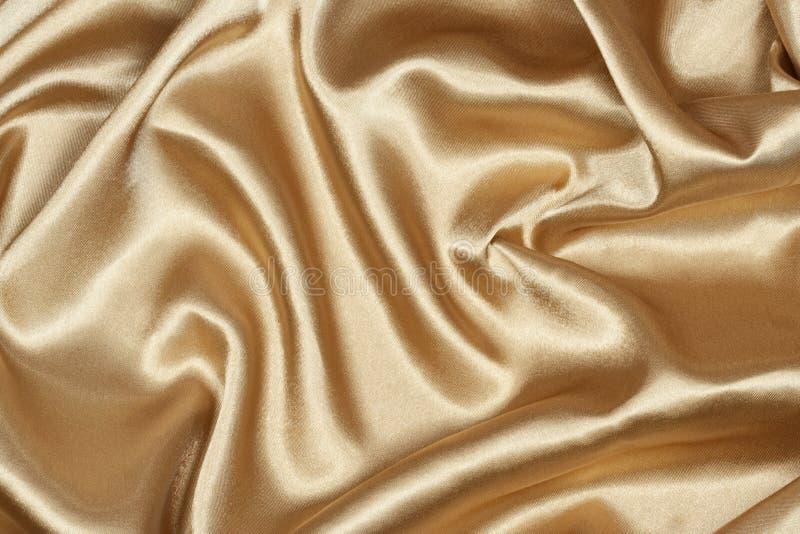 Golden silk stock images