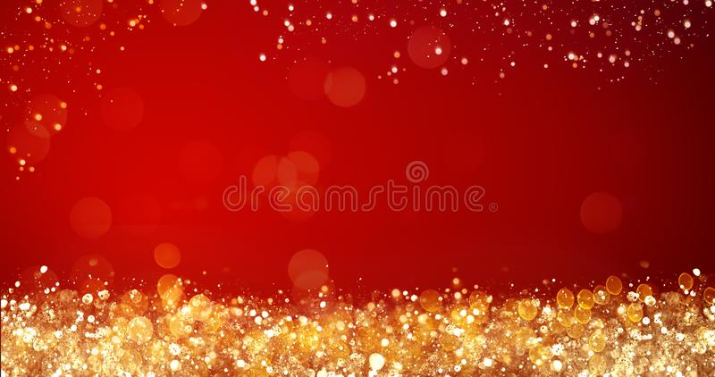 Golden and silver xmas lights on red background for merry christmas download golden and silver xmas lights on red background for merry christmas or season greetings message m4hsunfo