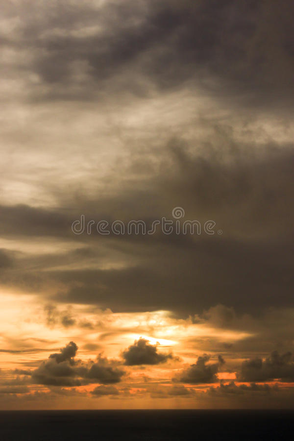 Golden Sky stock images