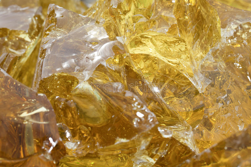 Golden Glass royalty free stock photography