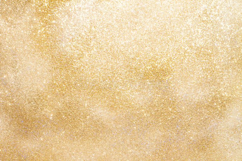 Golden sparkling background with copy space royalty free stock photos