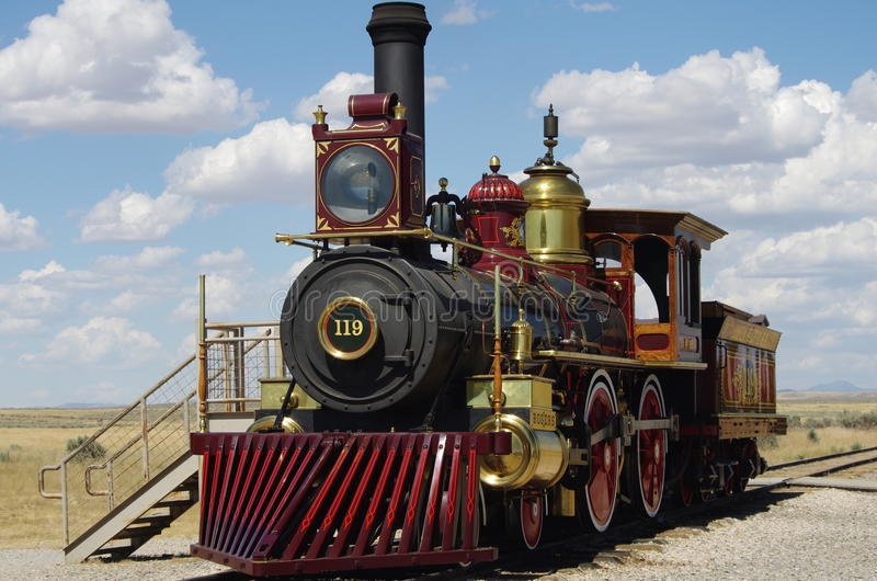Golden Spike National Historic Site royalty free stock image