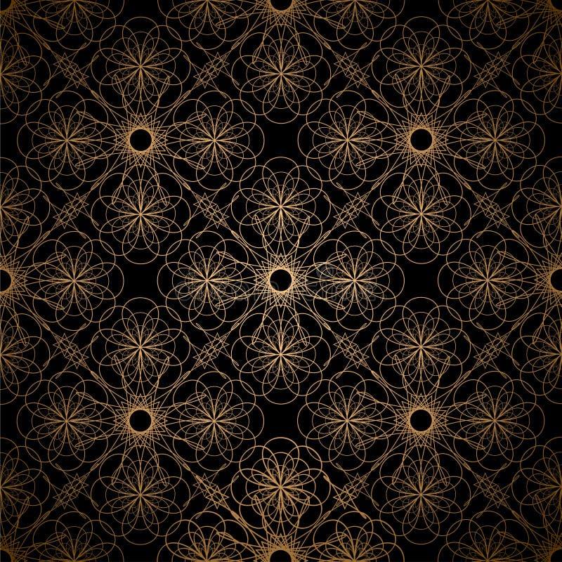 Download Golden spiral background stock vector. Illustration of spiral - 14852350