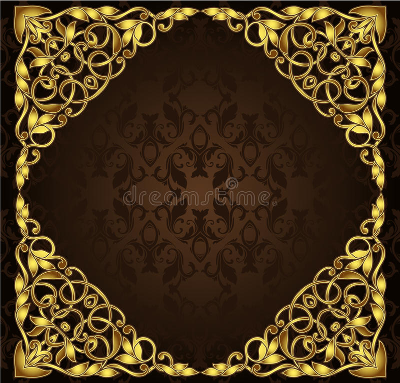 Free Golden Square Frame Stock Photo - 29789690