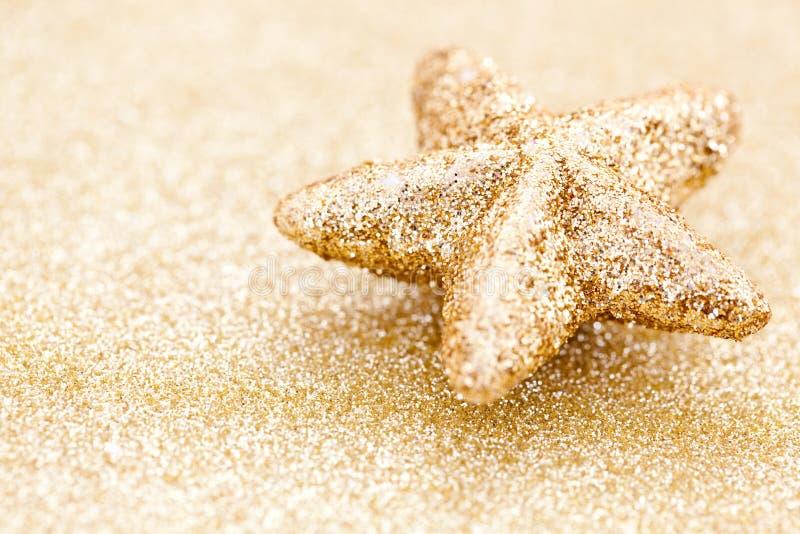 Golden star royalty free stock photos