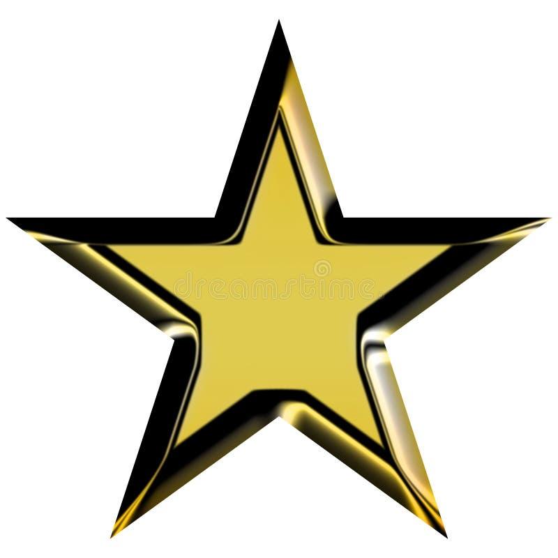 Golden star stock illustration. Illustration of marry ... - photo #5