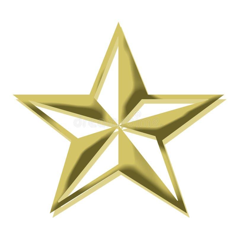 Free Golden Star Royalty Free Stock Photos - 6901848