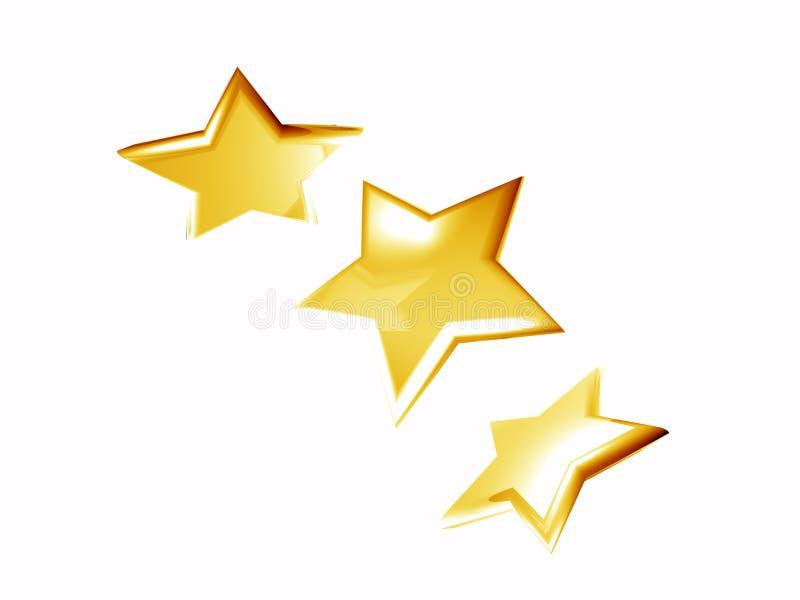 Download Golden stars stock illustration. Illustration of beam - 8153505