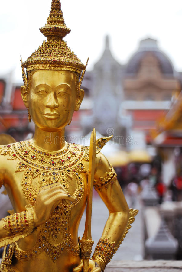 Golden Statue Royalty Free Stock Photography