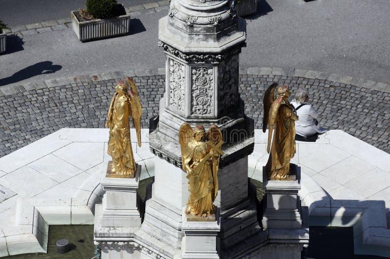 Christian Angel Statues Stock Image Image Of Prayer