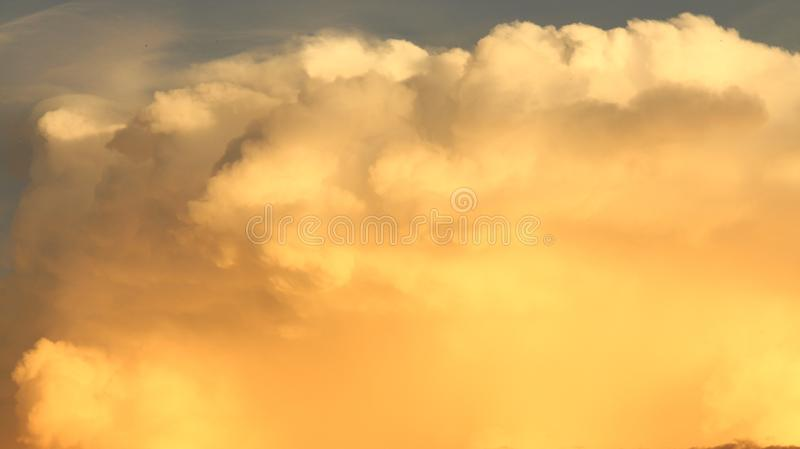 Golden Storm Paint royalty free stock photo