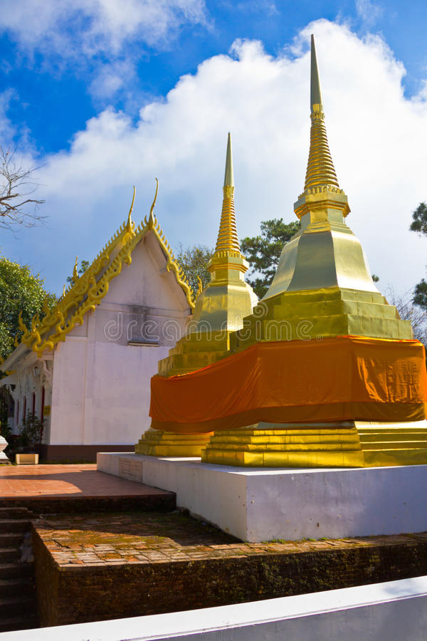 Download Golden stupa stock image. Image of gold, buddhism, ancient - 39508341