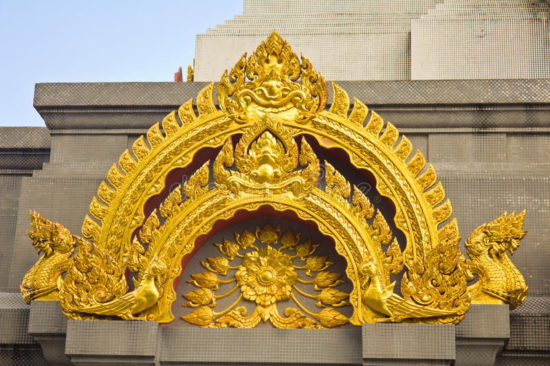 Download Golden stupa stock photo. Image of ornate, east, history - 39508570