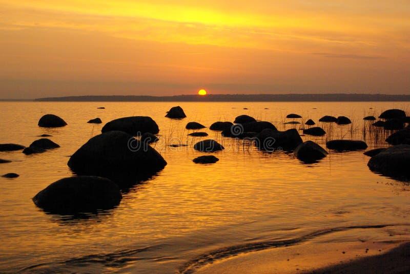 Download Golden sunrise stock image. Image of dusk, color, autumn - 3282959