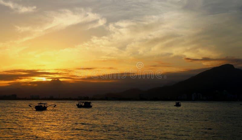 The Golden Sunrise royalty free stock photos