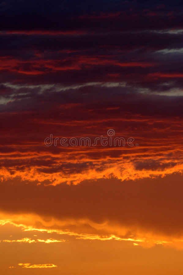 Golden sunset in Namibian desert royalty free stock image