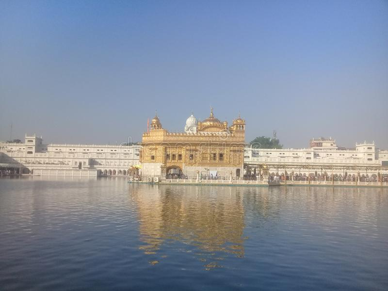 Golden tample. Famouse, beutifull, area stock image