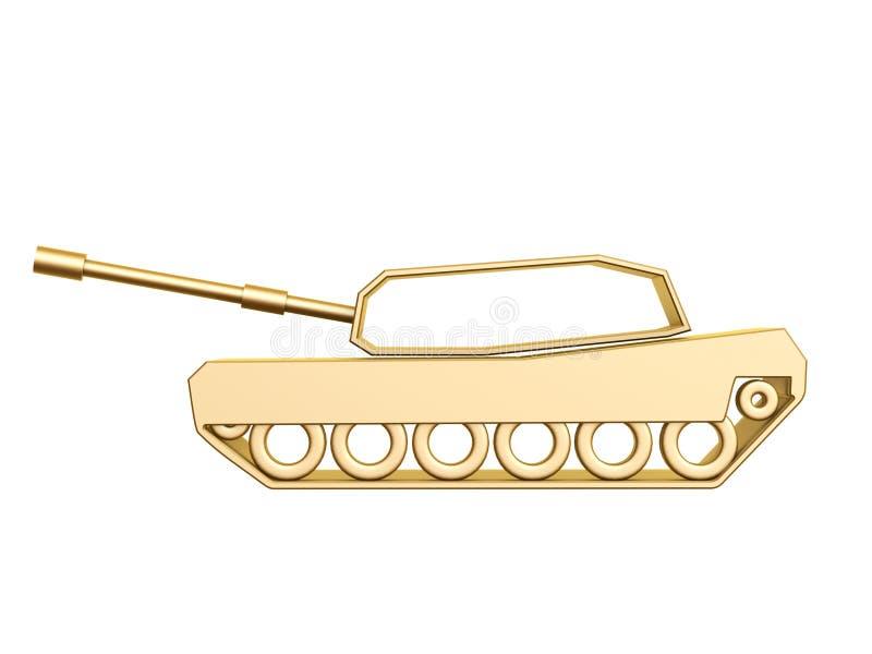 Download Golden Tank Curve Stock Images - Image: 28024904