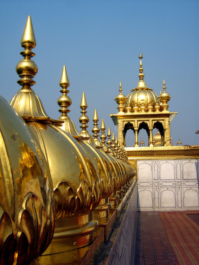 Download Golden Temple stock image. Image of golden, faith, precious - 3304319