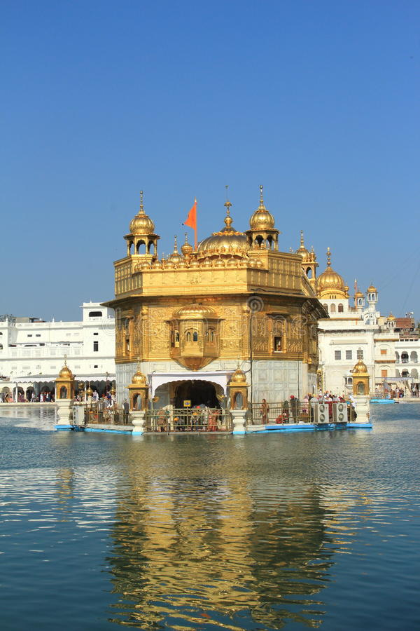 Golden Temple In Amritsar. stock images