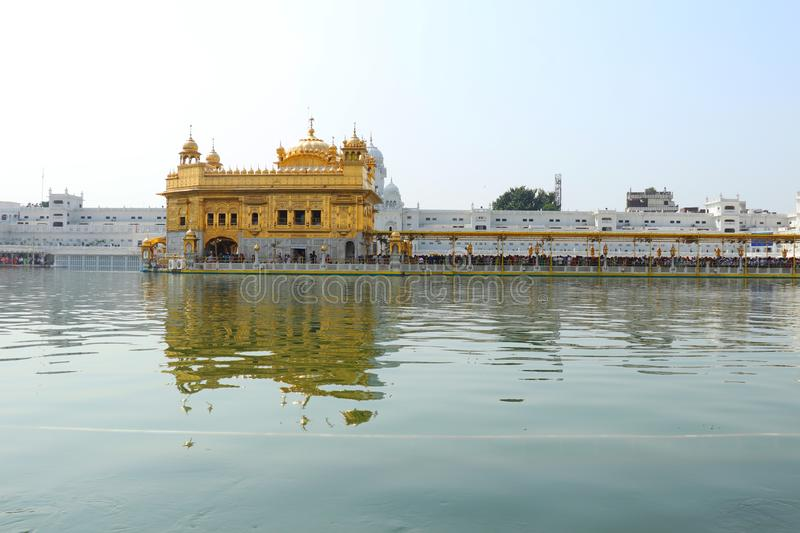 Golden Temple in Amritsar. India. royalty free stock images