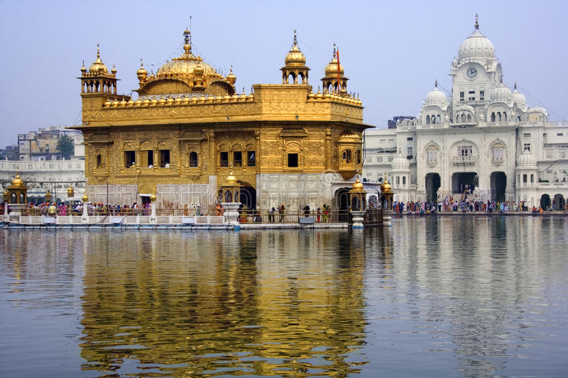 Golden Temple Of Amritsar - India Editorial Stock Photo