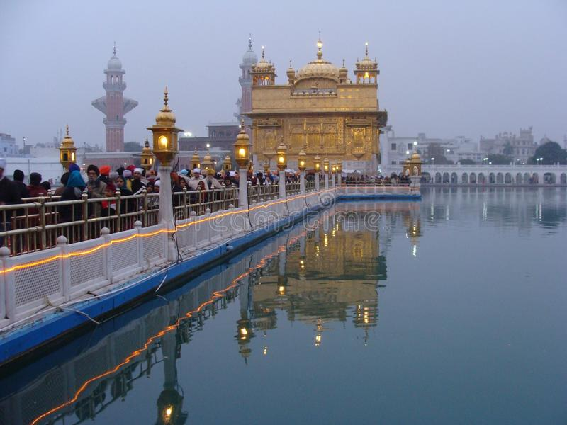 The Golden Temple , Amritsar , Punjab royalty free stock photography