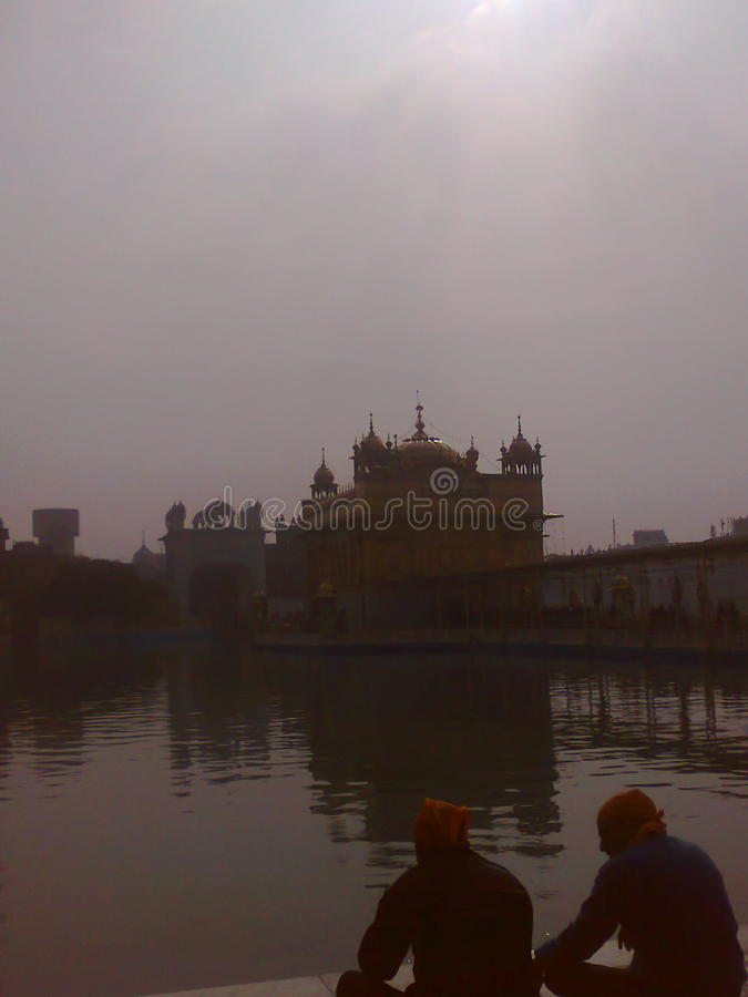 Golden temple Amritsar Punjab India royalty free stock images