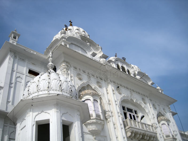 Golden temple in Amritsar - Sri Harimandir Sahib. Holy temple of the Sikhs - Amritsar, India stock photo