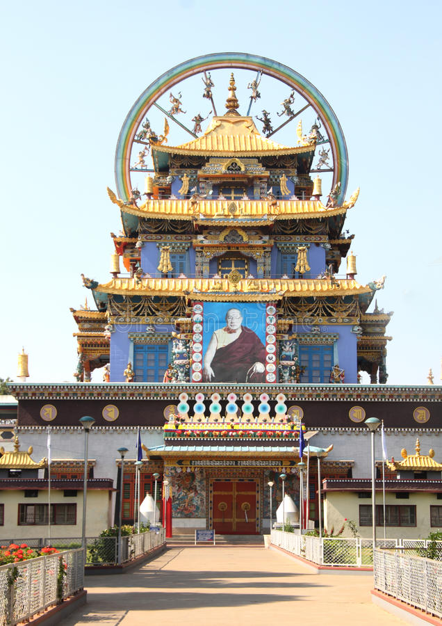 Download Golden Temple Coorg Editorial Stock Image - Image: 35192089