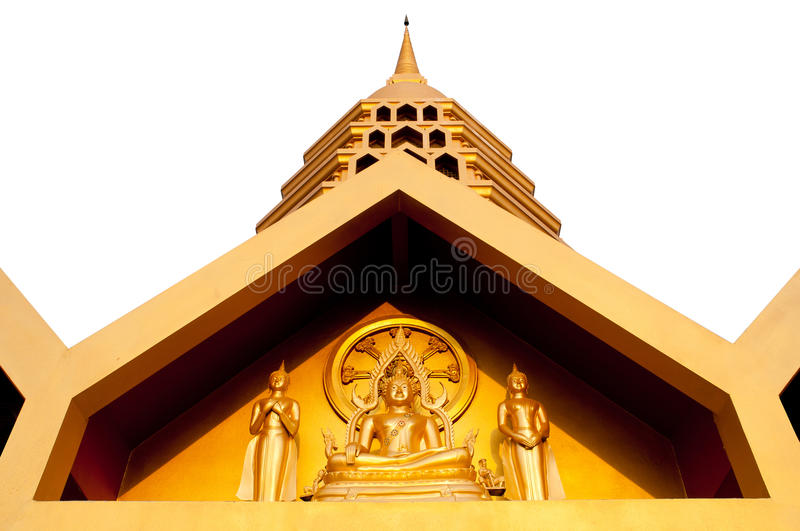 Download Golden temple isolate stock image. Image of gautama, statue - 24819657