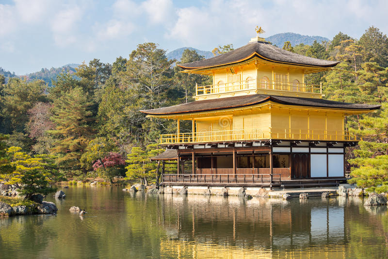 Download Golden Temple Kyoto stock image. Image of nature, ji - 35895513