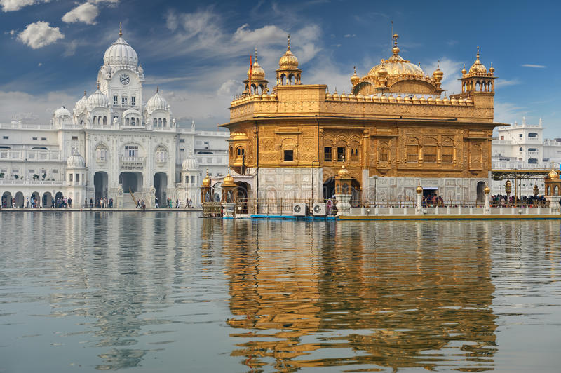 The Golden Temple, located in Amritsar, Punjab, India. royalty free stock photo
