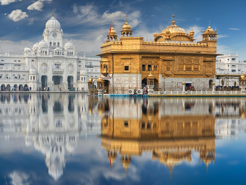 The Golden Temple, located in Amritsar, Punjab, India. royalty free stock images
