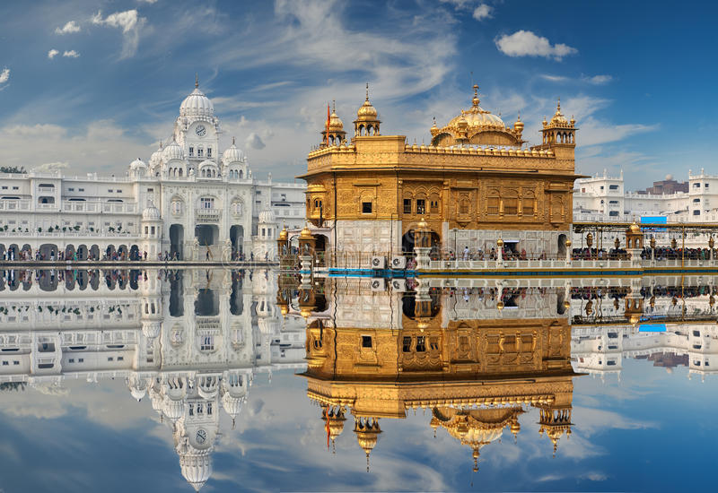 The Golden Temple, located in Amritsar, Punjab, India. royalty free stock photography