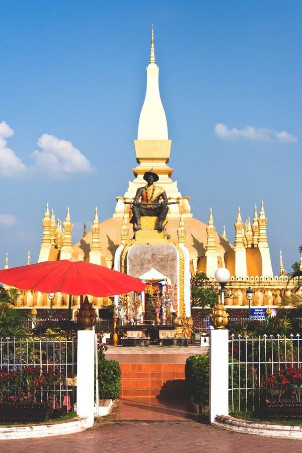 Download Golden Temple In Vientiane Laos Stock Photo - Image: 26798402