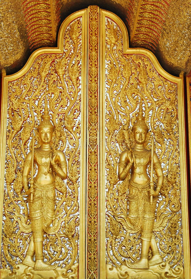 Download Golden Temple Window Art Thai Stock Image - Image of budda, architecture: 23412709