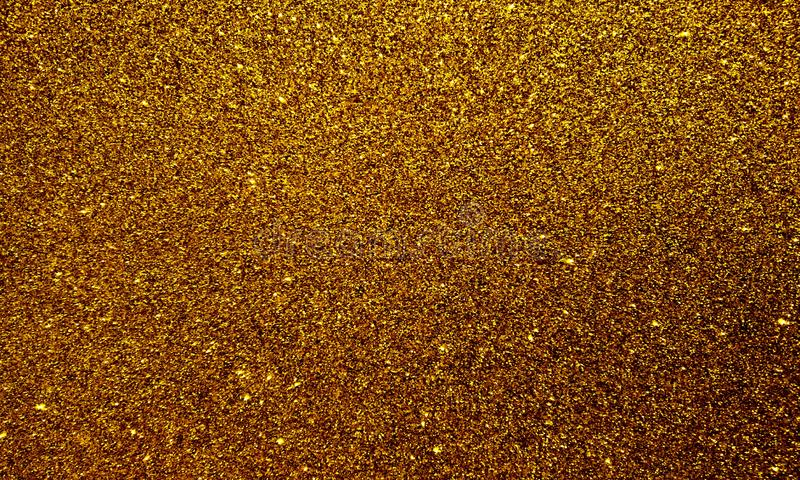 Golden textured background with glitter effect background. stock illustration