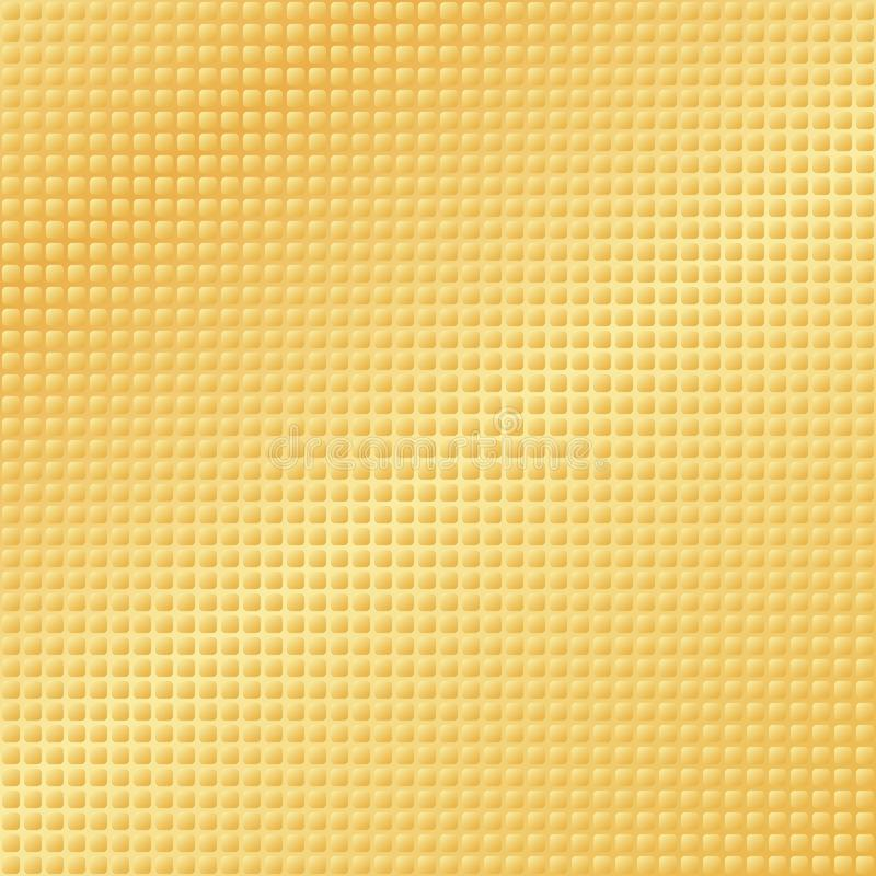 Golden textured pattern stock illustration