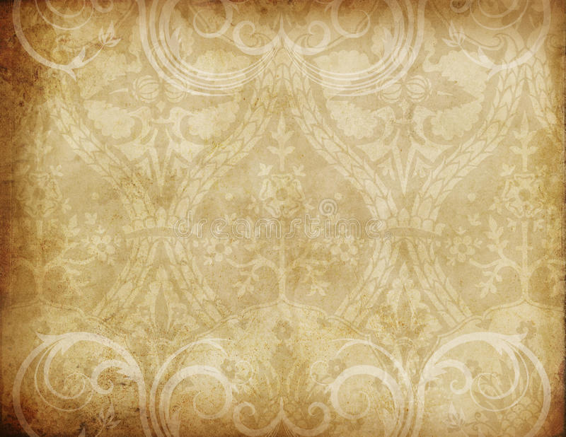 Golden Textures. A multi-layered, rich textured background for scrapbooking and design stock photography