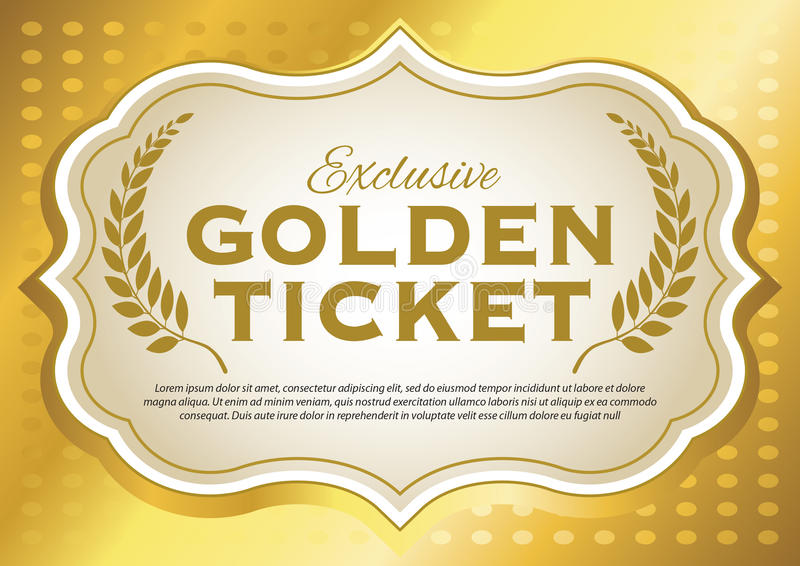 golden ticket template for word - Boat.jeremyeaton.co