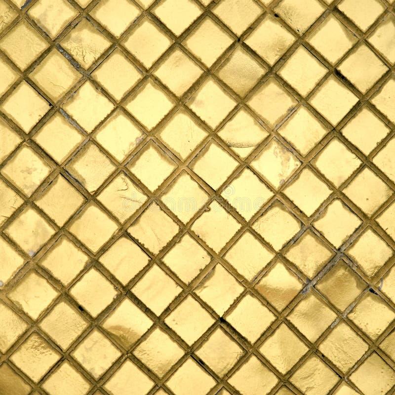 Golden Tile Stock Photos