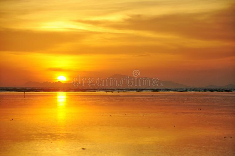 golden time stock photo