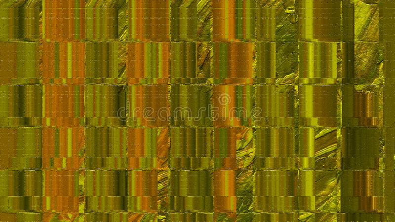 Golden tinted wall. Abstract theme. Painted textured background. Color stained digital paper. Grunge brush strokes art. Wooden textured paper. Digital paper royalty free stock image