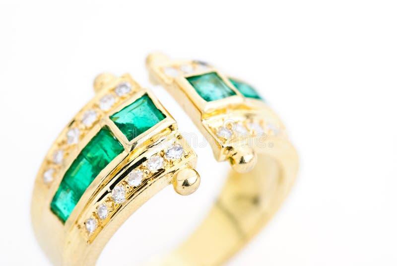 Golden tourmaline ring stock images